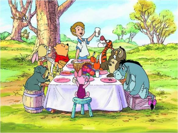 pooh thanksgiving