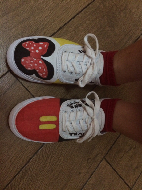 2015 Disney shoes